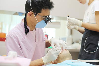 当院の精密な入れ歯治療×ミラクルデンチャー